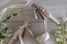 Tulle sposa calzature