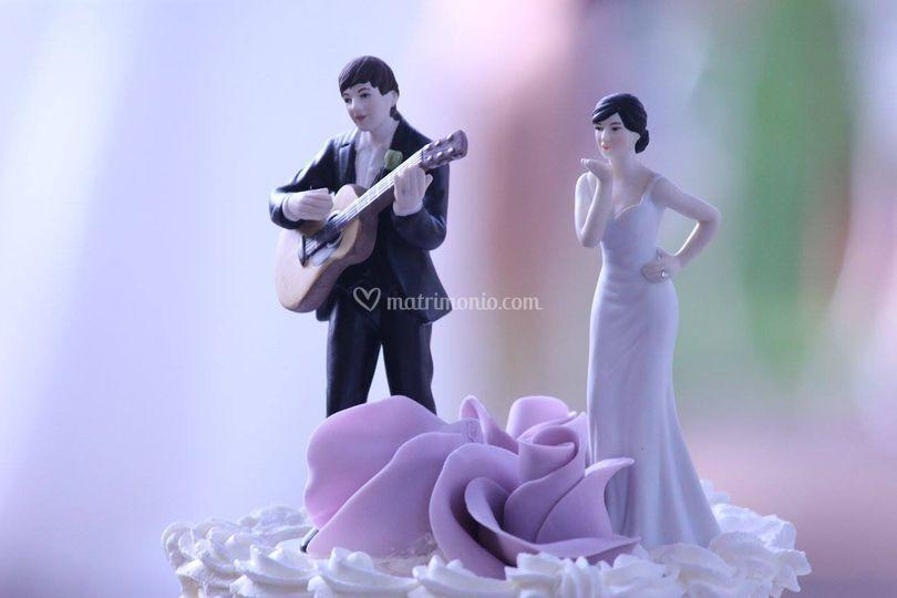 Cake Topper a tema in omaggio