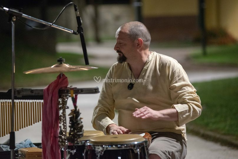 Arcangelo: le percussioni