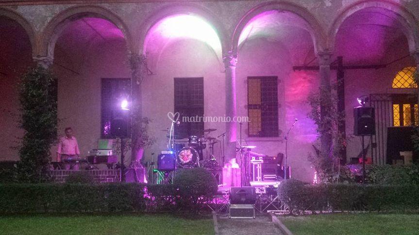 Matrimonio - Chiostro Milano