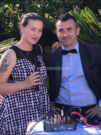 Luca e Jennifer a Villa Dino
