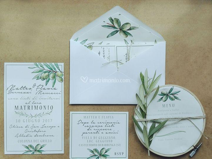 Partecipazione Olive botanica