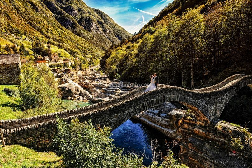 Ponte romano in svizzera