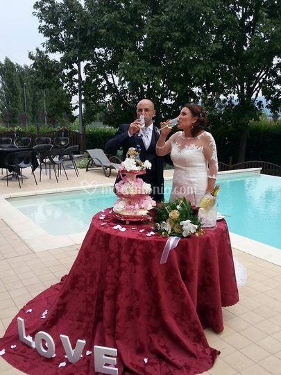 Gli sposi António & Stefania
