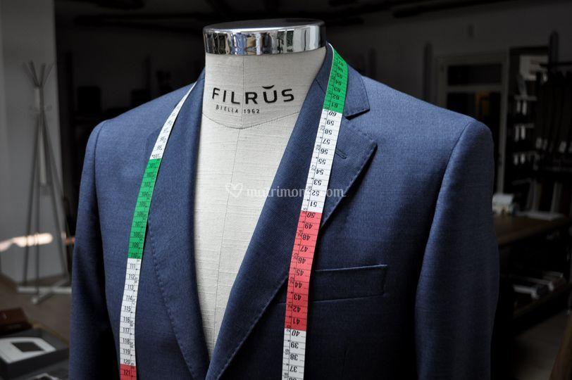 Abiti da sposo a Biella di Filrus - Sergio Rossi Confezioni