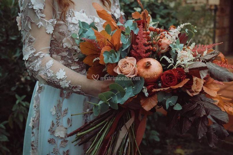 Un bouquet non convenzionale
