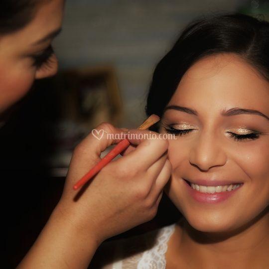 Make up per Jessica