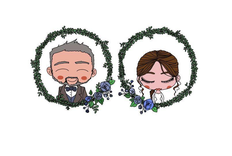 Illustrazione Sposi