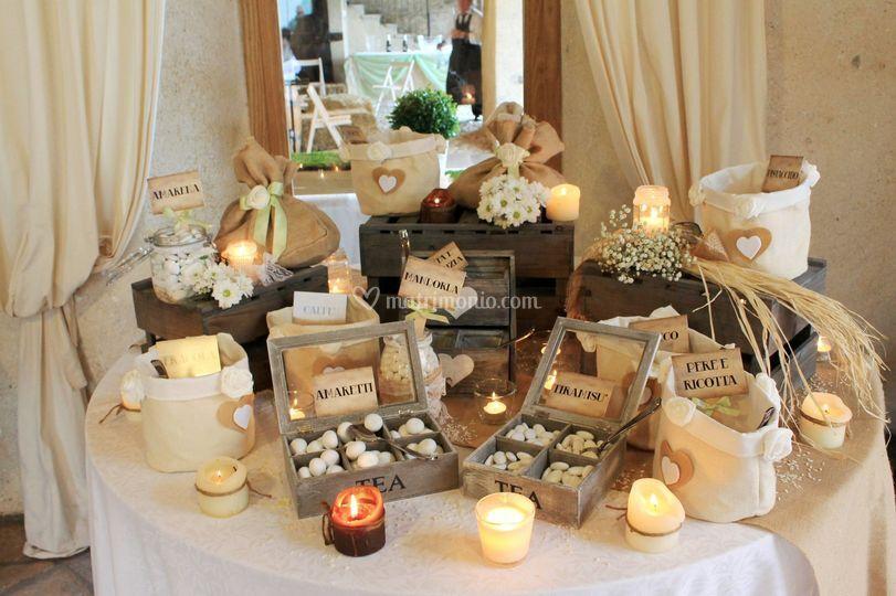 Confettata Matrimonio Country Chic : Confettata country chic di vanilla wedding foto