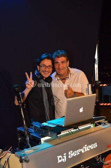 Con David  Simone Vinci