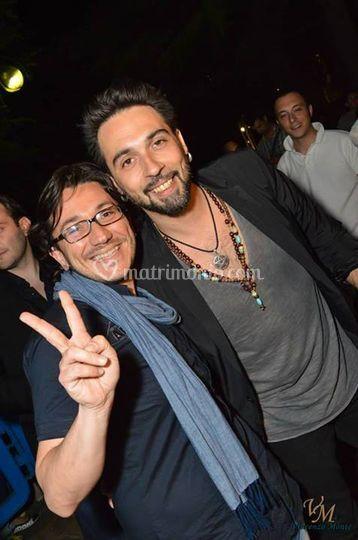 Con Francesco Sarcina
