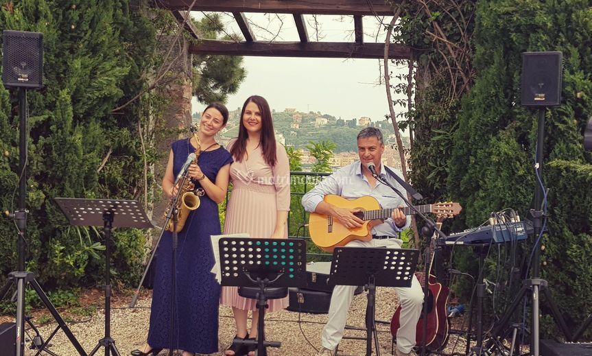 Trio jazz per l'aperitivo...
