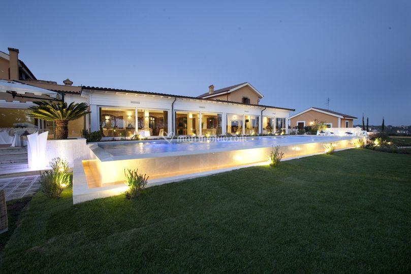 La villa di Casale Realmonte