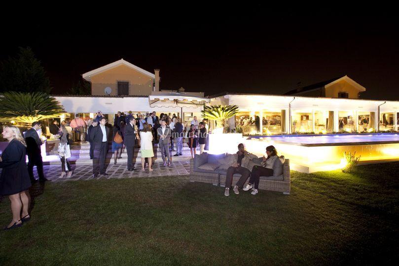 La serata di inaugurazione