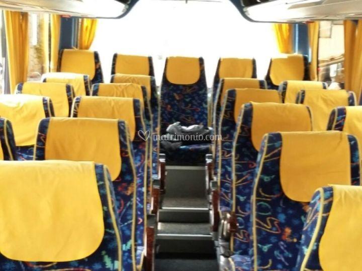 Interni minibus 26 posti