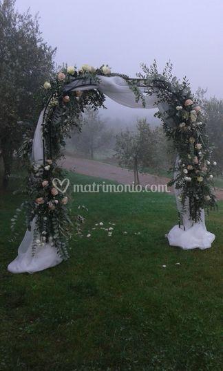 Arco cerimonia civile