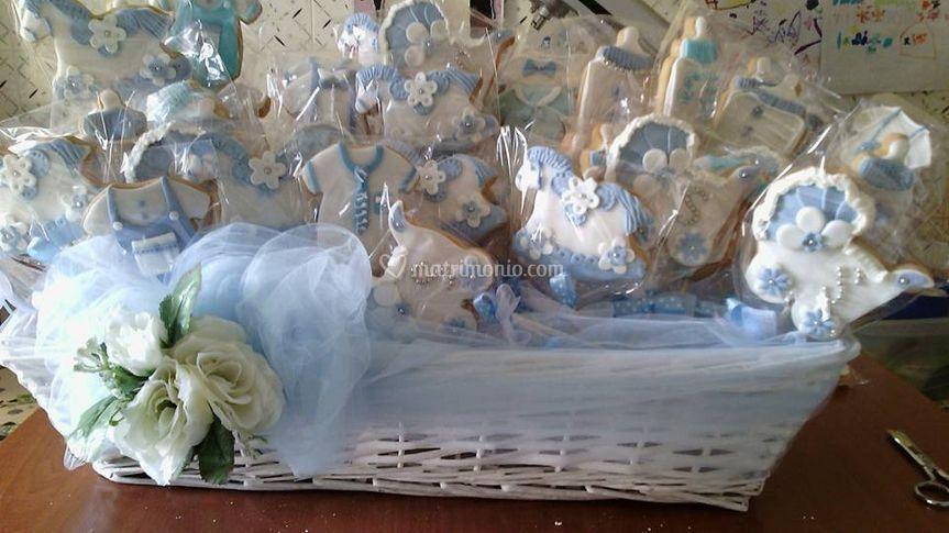 Battesimo azzurro
