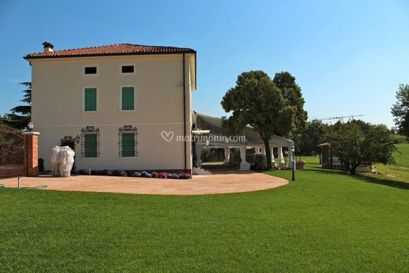Villa e giardino