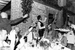 Cena sala interna di Tenuta vinicola Le Forge