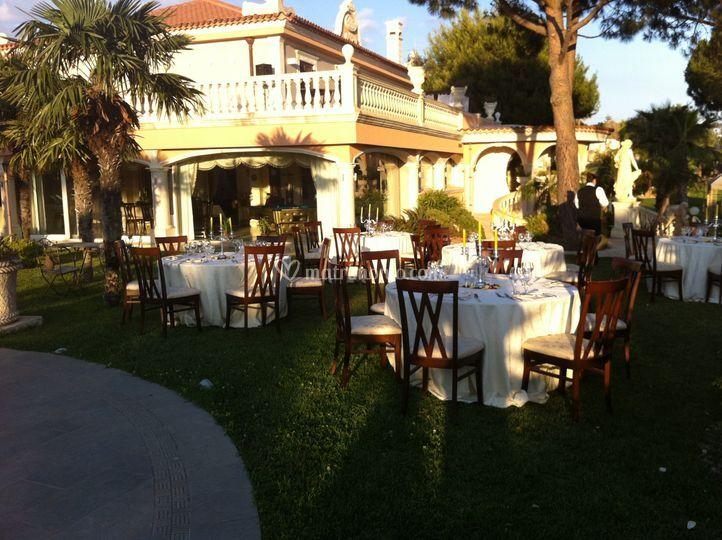 Catering in villa privata