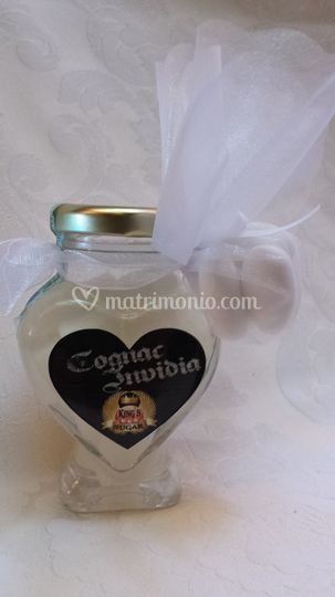 Bomboniera Cognac Invidia