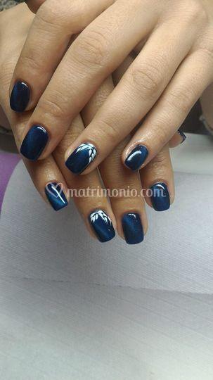 Nails effetto tyger