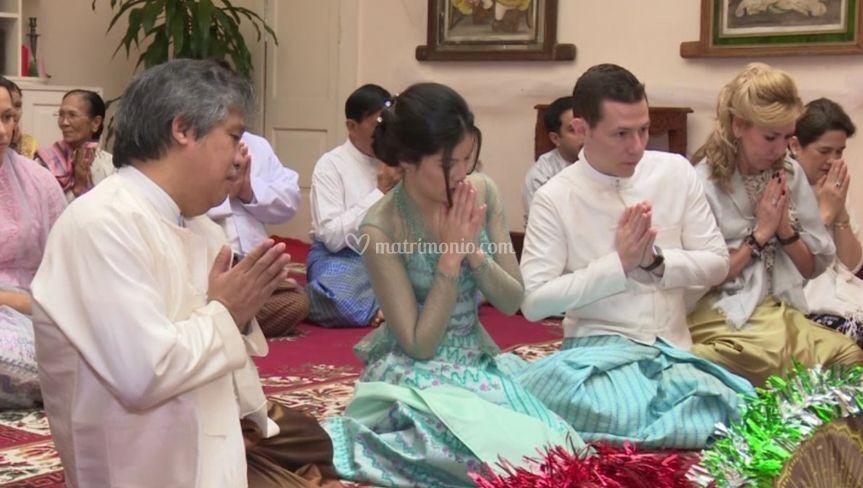 Myanmar Momenti di nozze