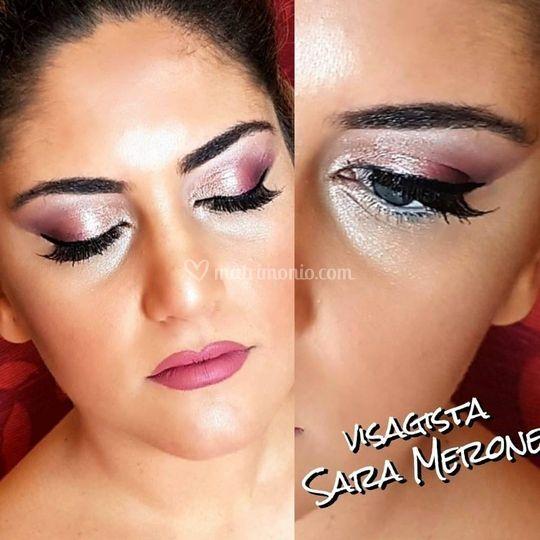 Make-up toni Pink