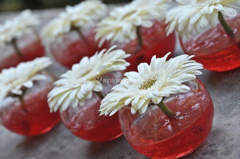 Piccoli allestimenti floreali