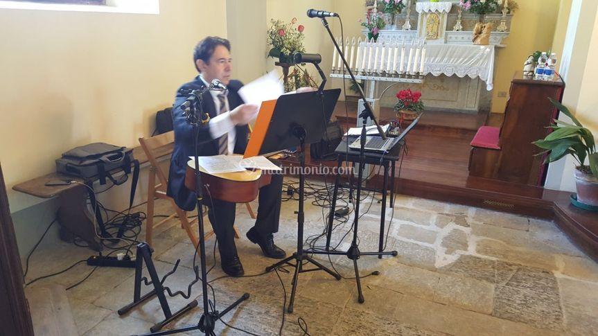 Servizio musica in chiesa