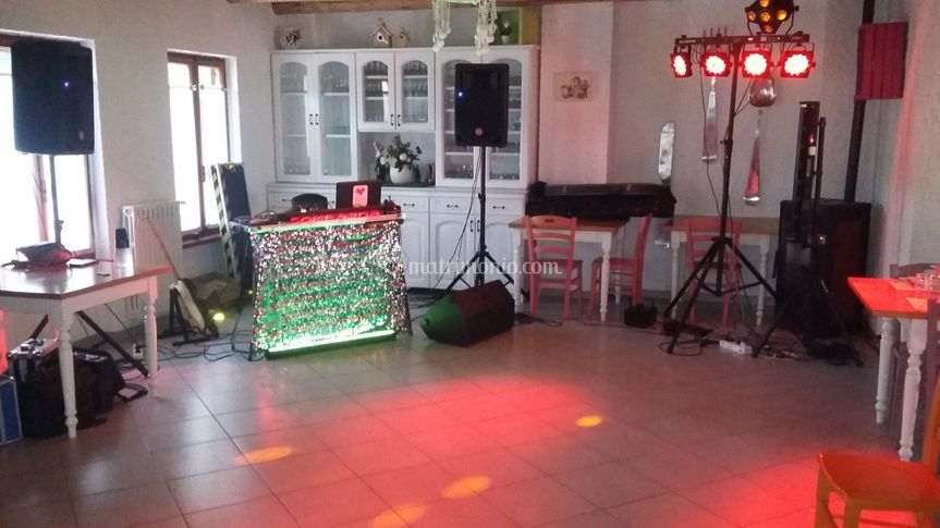 Setup festa privata