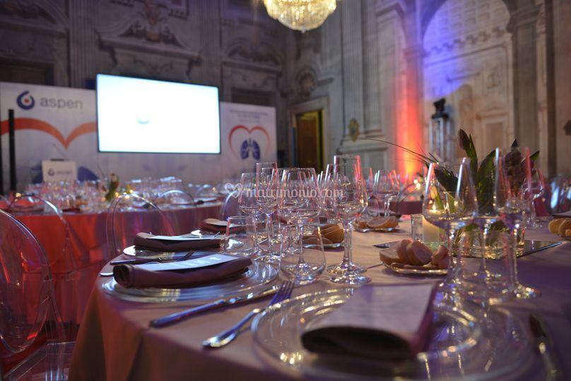 Banqueting Palazzo Verità Poet