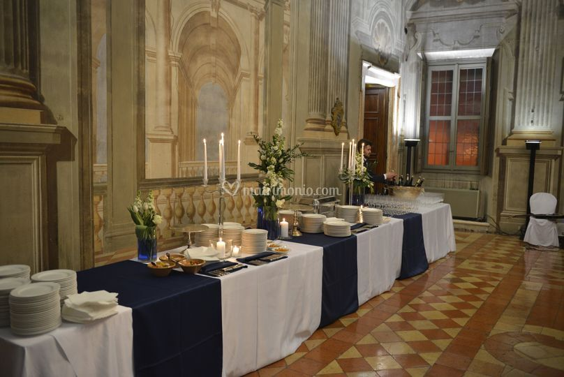 Banqueting buffet