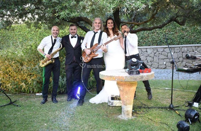 Rm band con gli sposi 2019