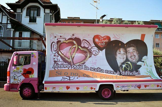 Camion Vela per dediche