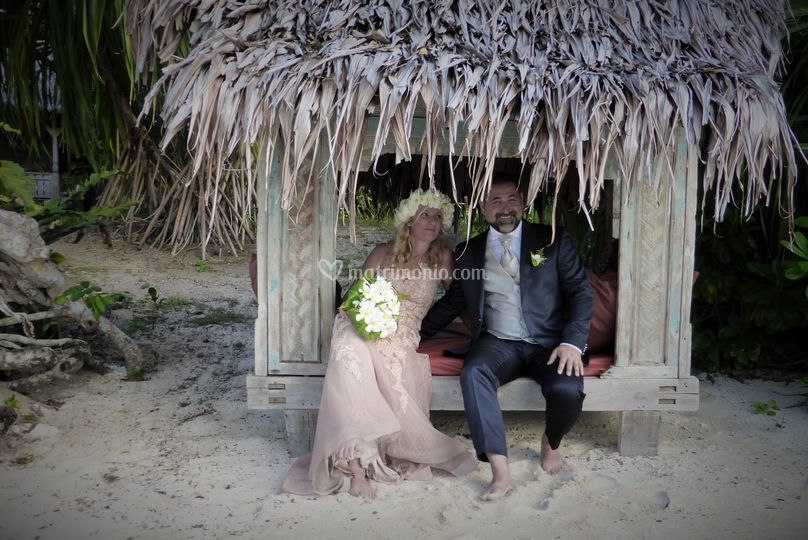 Giorgio e Michela a Vanuatu