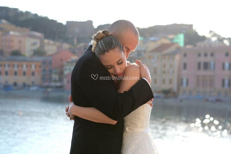 Wedding  sposi baia silenzio