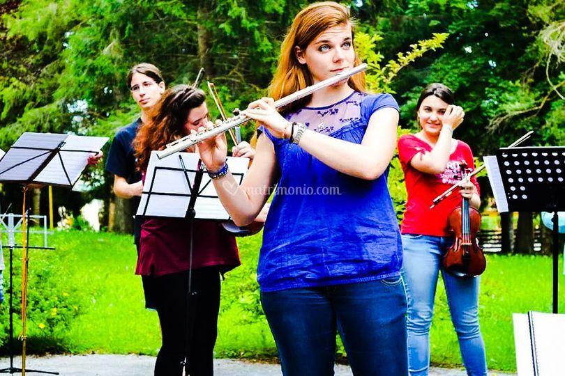 Solista in orchestra.