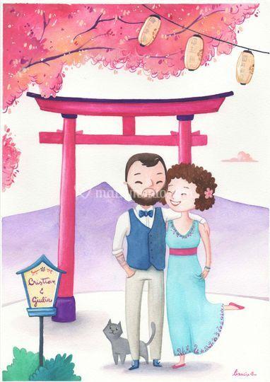 Ritratto viaggio di nozze