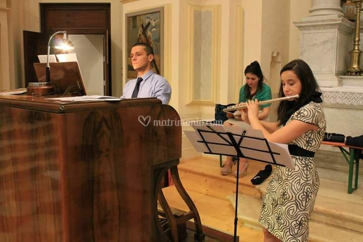 Flauto &organo &voce