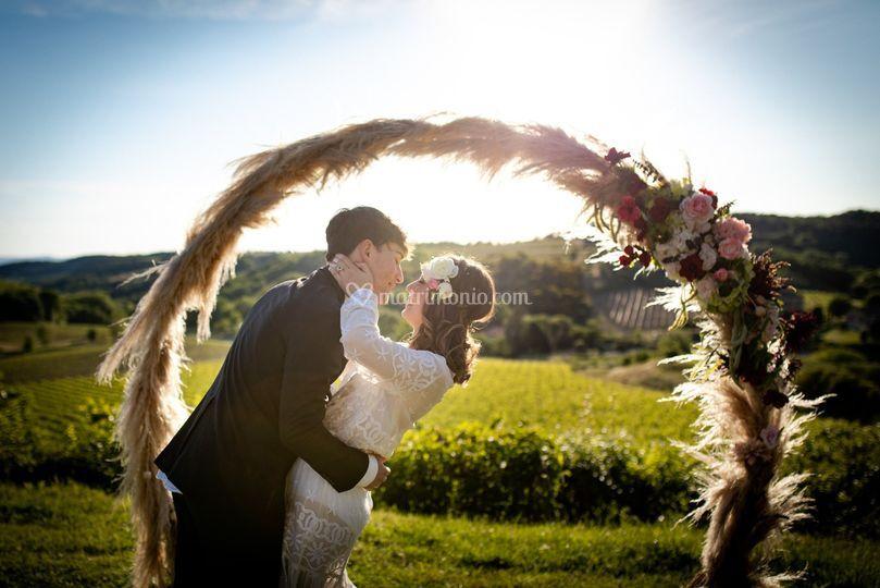 Arco tondo cerimonia