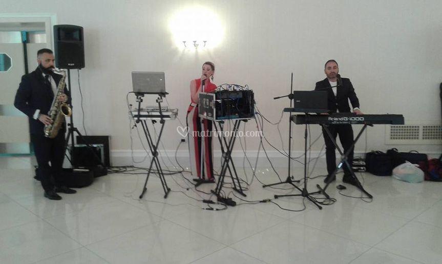 Sax e piano live