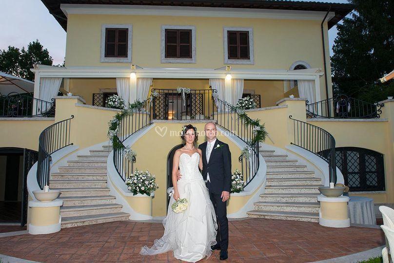 Sposi a Villa Rossini