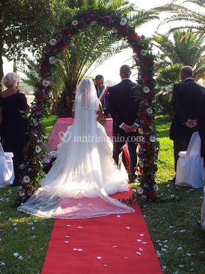 Matrimonio In Loco : Cerimonia in loco di villa jalé foto