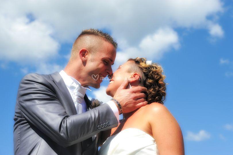 Bacio sposi a Bobbio