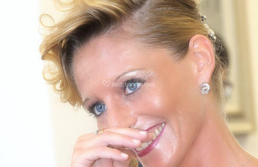 La sposa sorridente