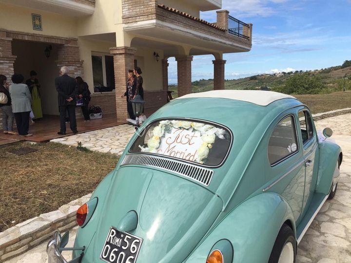 Maggiolino '62 colore tiffany