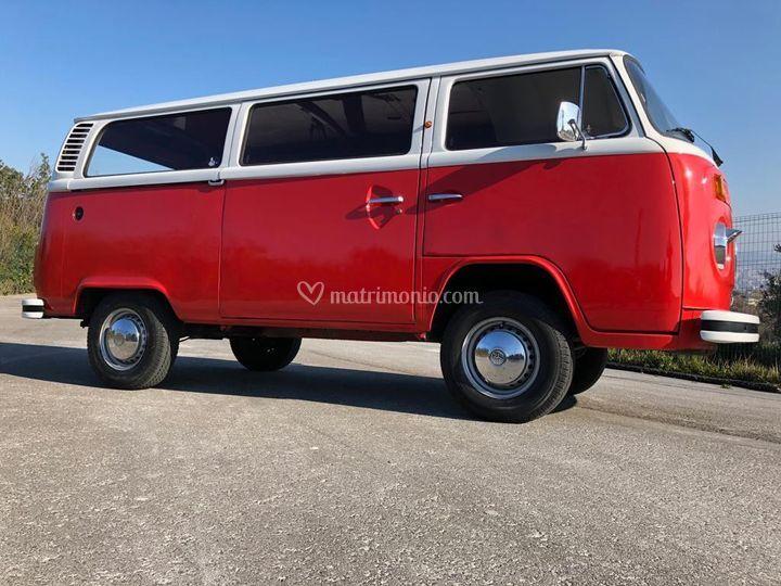 Pulmino WV '79 colore rosso