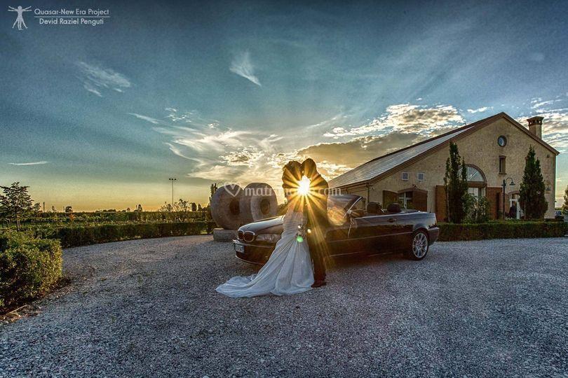 Villa al tramonto