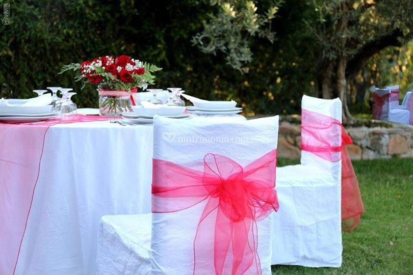 Catering matrimonio piscina